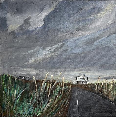 Nancy Barick, The Road, acrylic, NFS
