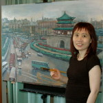 Artist_WanChuan_Kesler_with_Bell_Tower