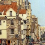 RichardRochon_EdinburgScotland_COloredPencilOnSandpaper